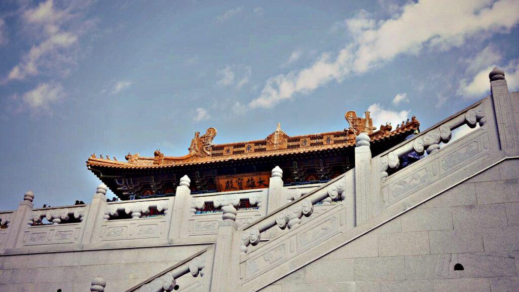Pairi Daiza Belgia - chińska świątynia