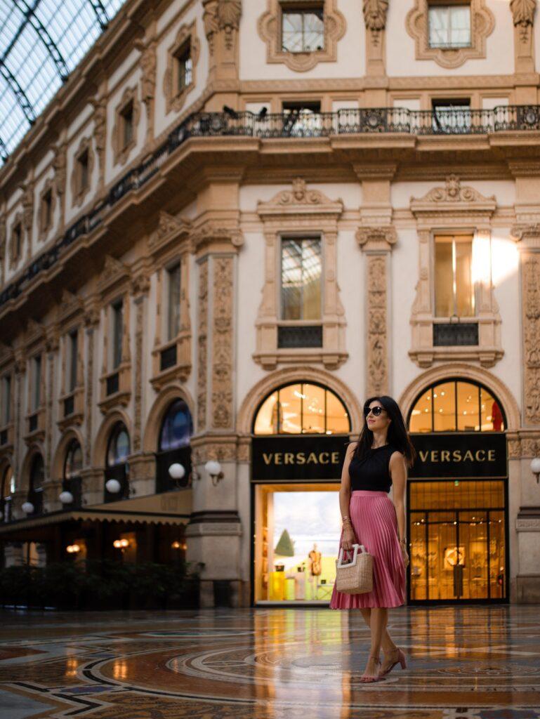 shopping w mediolanie lista sklepow do odwiedzenia w mediolanie galleria vittorio emanuele 1