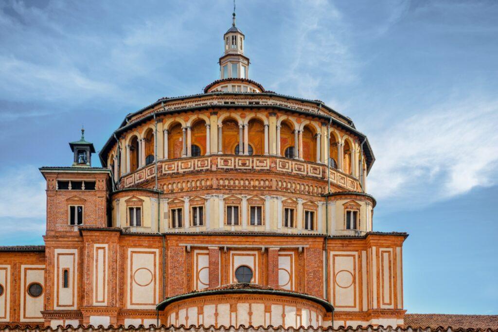 atrakcje w mediolanie kosciol santa maria delle grazie obraz ostatnia wieczerza