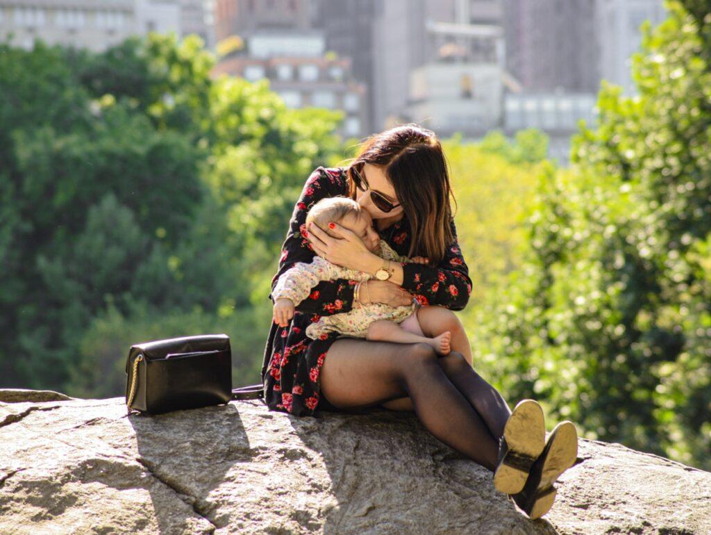 Central Park z dzieckiem
