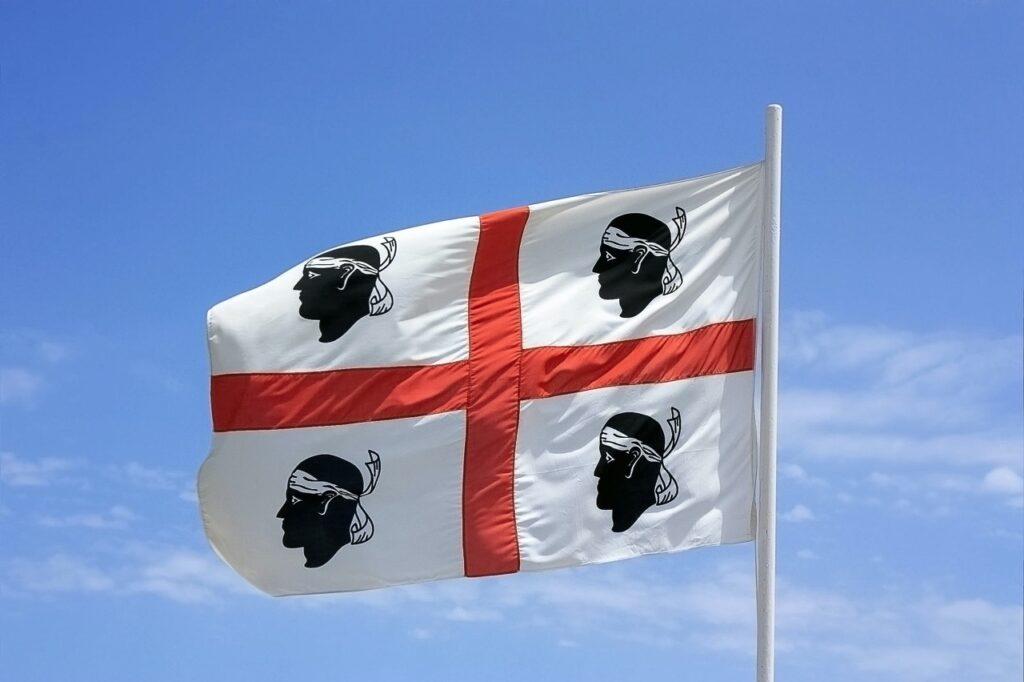 Flaga Sardynii.