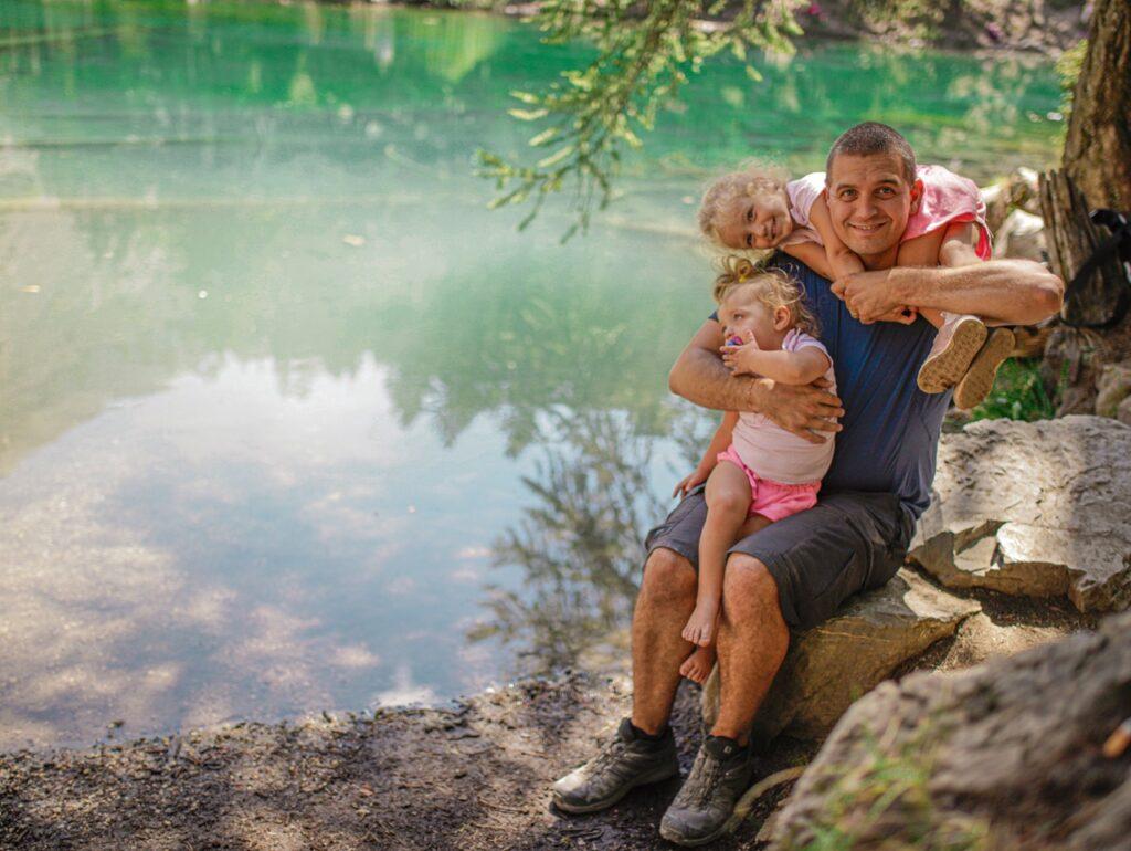 co zwiedzic w piemoncie lago verde bardonecchia wlochy z dzieckiem