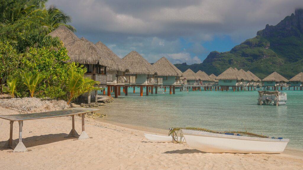 Bora Bora i domki na wodzie