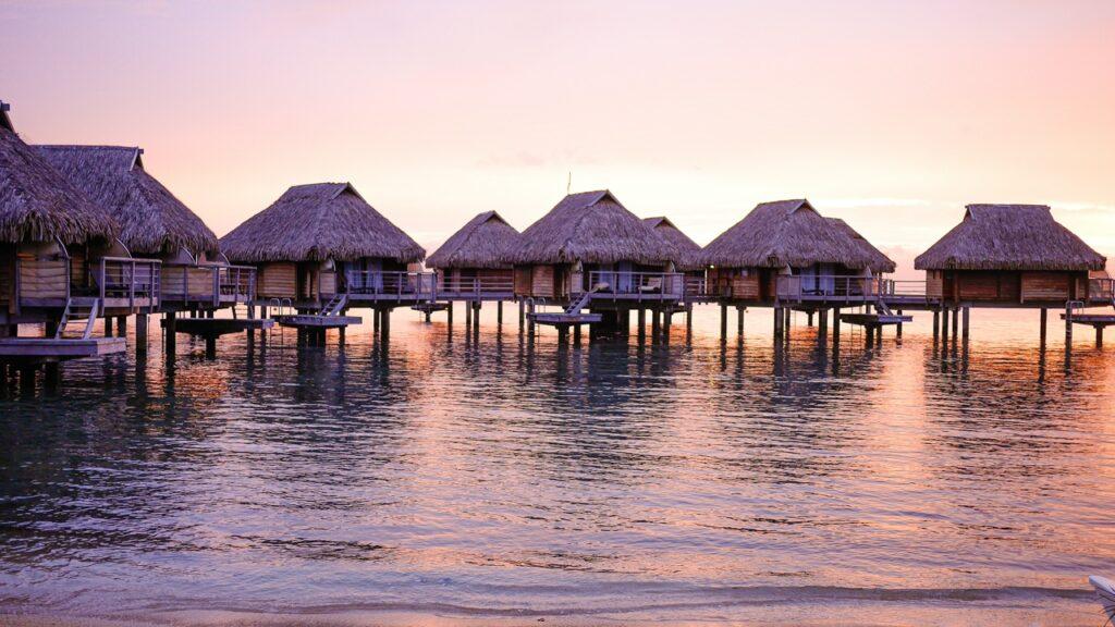 domki na wodzie Polinezja Francuska