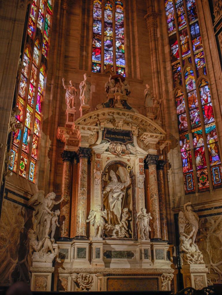 duomo wnetrze oltarz