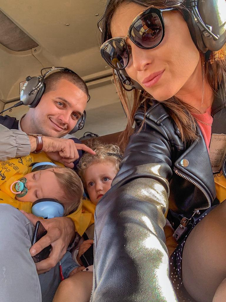 Lot helikopterem z dzie膰mi
