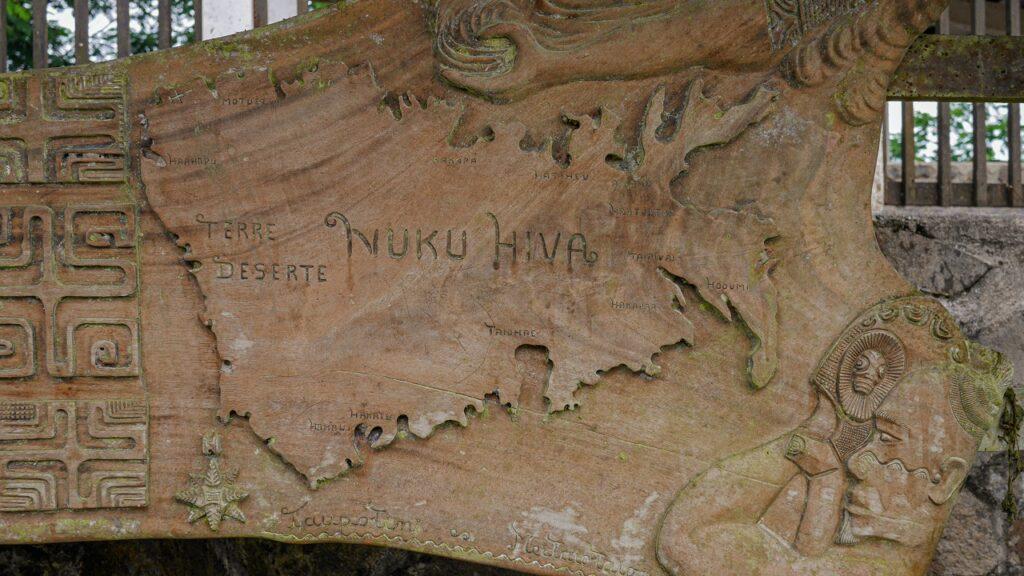 Nuku Hiva mapa