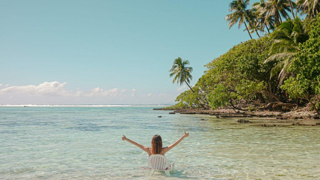 Najdroższa bezludna wyspa w Polinezji Francuskiej