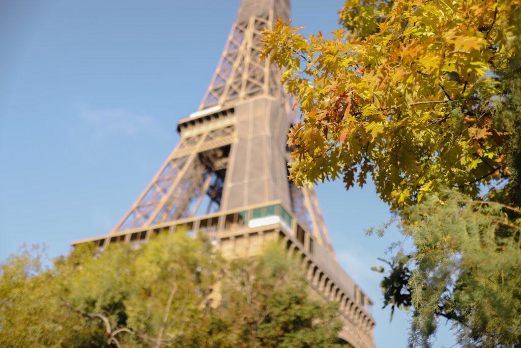 Najpiękniejsze punkty widokowe na wieżę Eiffla.