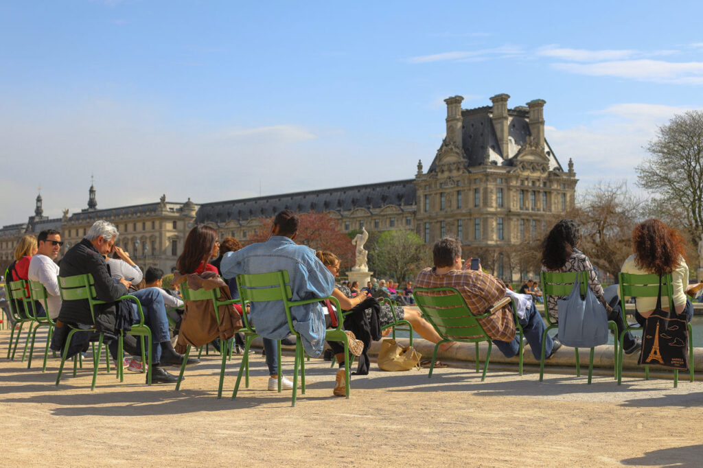 Zwiedzanie Ogrodu Tuileries