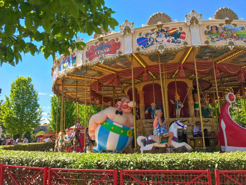 Park Asterix z dziećmi