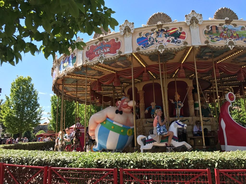 Park Asterix pod Paryżem z dziećmi