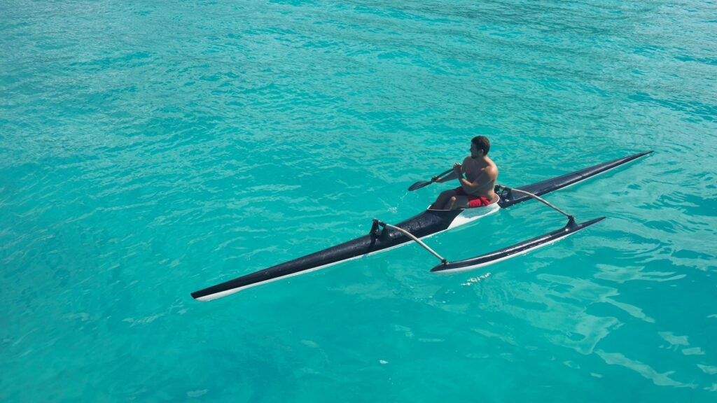 Piroga łódź polinezyjska