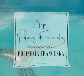 Polinezja Francuska mapa
