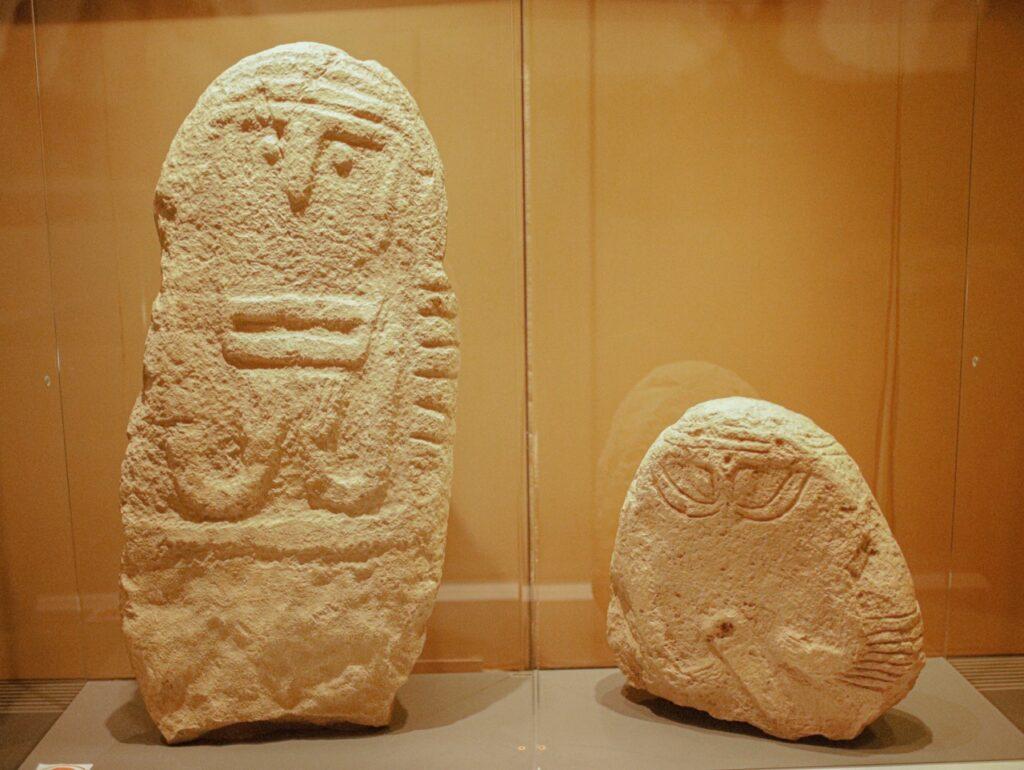 Prehistoryczne rze藕by.