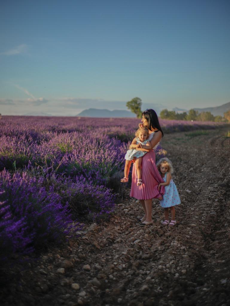 Sesje fotograficzne w Valensole. Lawendowe pola w Valensole.