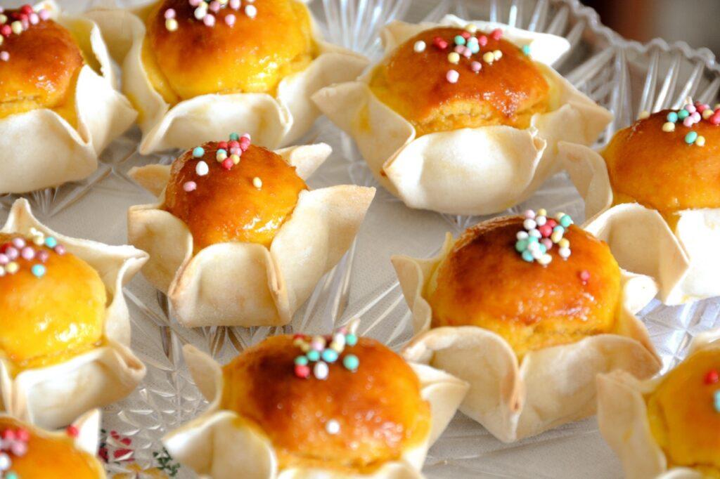 Sardyńskie słodycze. Ciasteczka pardule.
