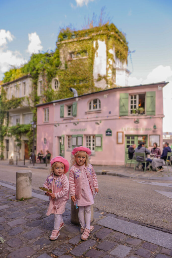 Zwiedzanie Montmartre z dzieckiem