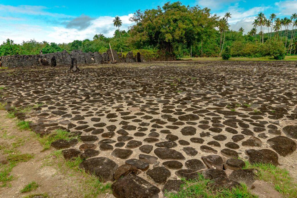 Marae na wyspie Raiatea