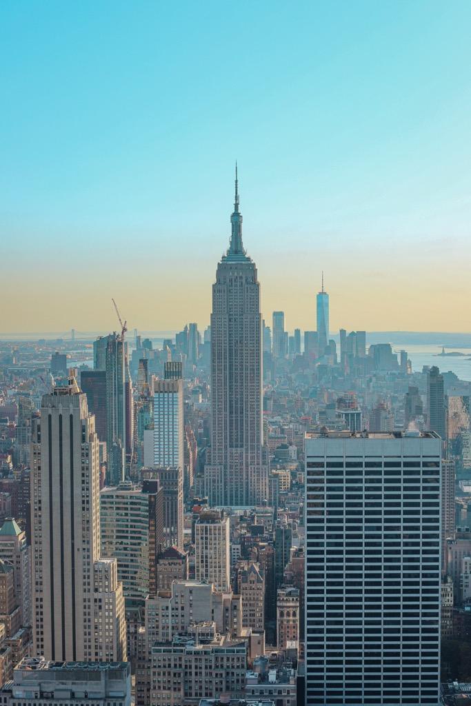 Top of the Rock w Nowym Jorku