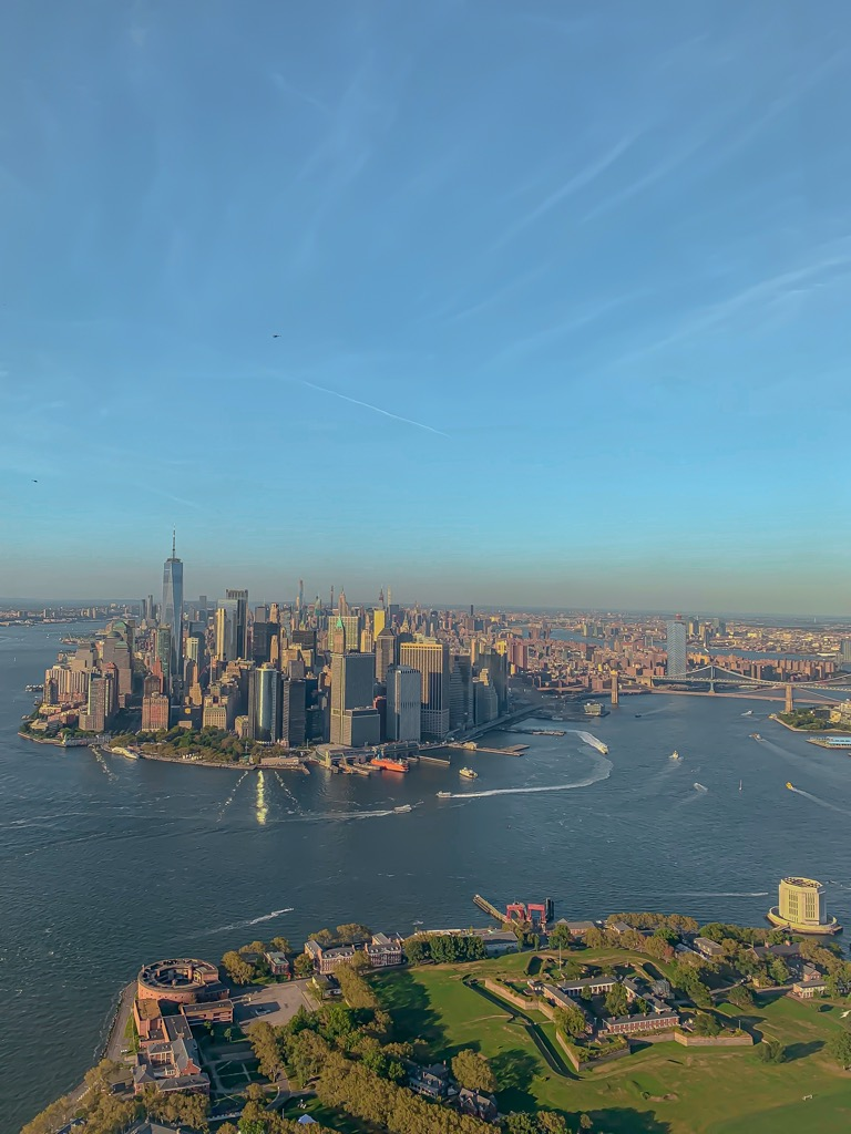 Loh helikopterem nad Manhattanem