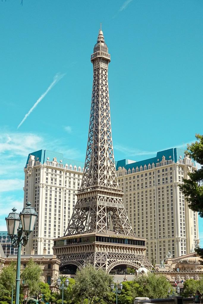 Wieża Eiffla w Las Vegas.