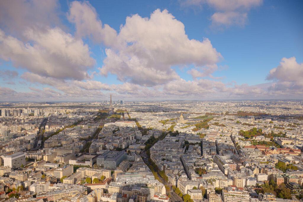 Zwiedzanie Wieży Montparnasse