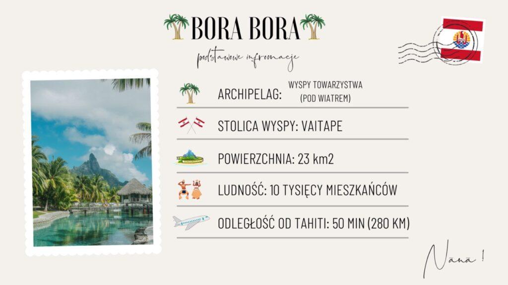Wyspa Bora Bora wakacje