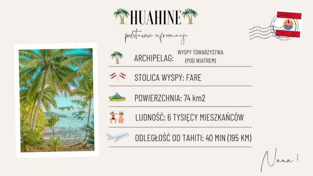 Wyspa Huahine wakacje