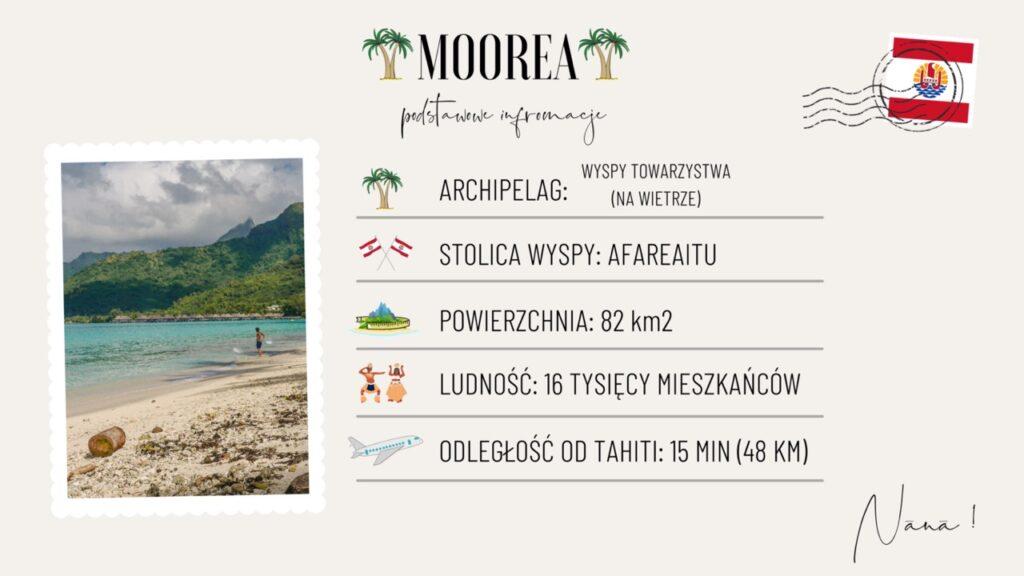 Wyspa Moorea wakacje