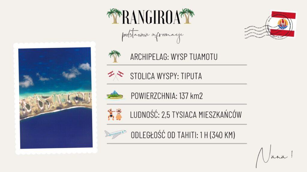 Wyspa Rangiroa wakacje