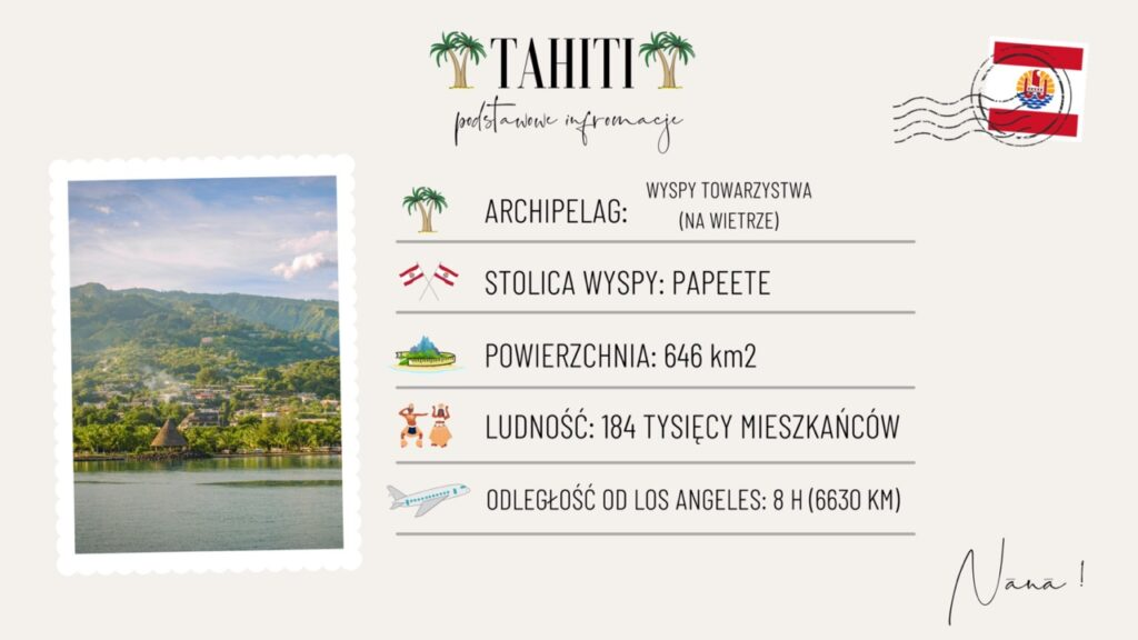 Wyspa Tahiti wakacje