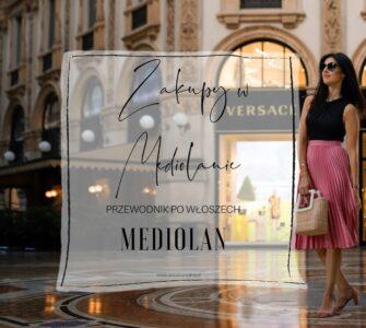 Zakupy w Mediolanie
