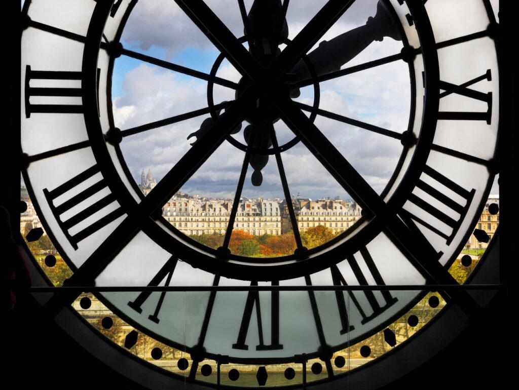 Zegar w Muzeum Orsay
